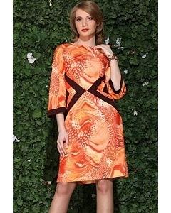 Оранжевое платье Apple Dress | 502Orange