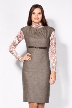 Стильное платье футляр