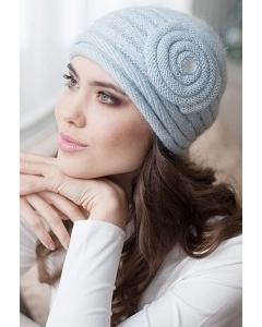 Женская шапочка Landre Франческа голубого цвета