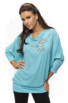 Удлиненная блузка Enny 16028