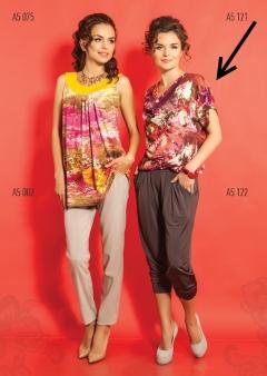 Летняя блузка TopDesign A5 121