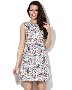 Короткое летнее платье платье Donna Saggia DSP-98-21