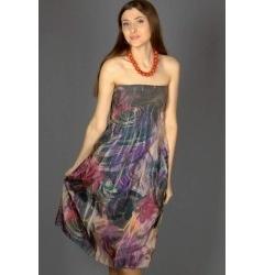 Цветная юбка-сарафан Emka Fashion