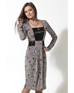 Трикотажное платье TopDesign | B2 058