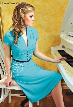 Платье от V&V голубого цвета