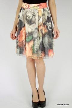 Летняя юбка с Мерлин Монро Emka Fashion 322-merlin