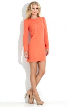 Трапециевидное платье Donna Saggia DSP-123-55
