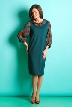 Осеннее платье TopDesign B5 060