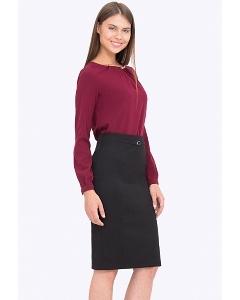Элегантная чёрная юбка Emka 719/djolin