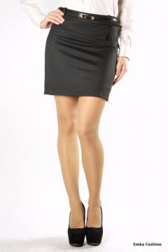 Черная короткая юбка   332-gloria