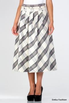 Длинная теплая юбка Emka Fashion 306-meseda