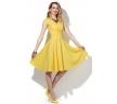 летнее платье жёлтого цвета
