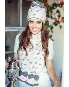 Комплект женский (шапка+шарф) Landre Валентина