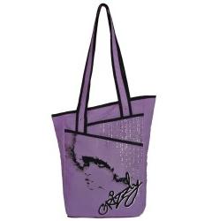 Фиолетовая женская сумка Grizzly | МД-1509