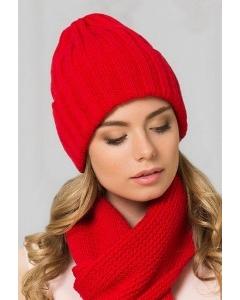 Женская шапка цвета гвоздики Landre Берлин