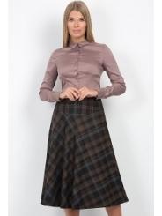 Юбка в клетку Emka Fashion 527-rosina (коллекция 15/16)