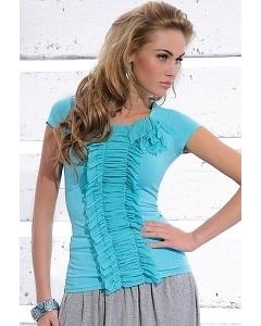 Бирюзовая блузка Zaps Solange