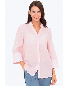 Шикарная розовая рубашка свободного кроя Emka b 2216/acura