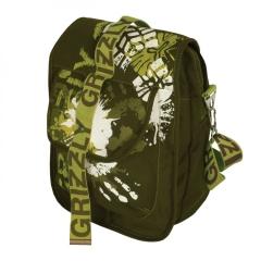 Зеленая сумка Grizzly   СМ-1020