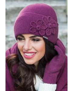 Женская шапочка с отворотом Kamea Magnolia