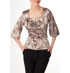 Атласная блузка 2011