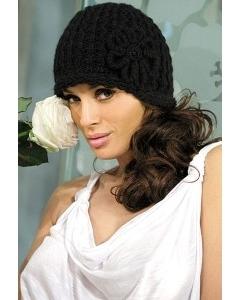 Черная шапочка Kamea Emilia