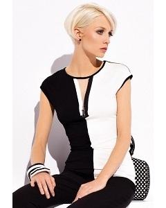 Блузка с вырезом-молнией Zaps Isabel