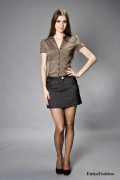 Мини-юбка Emka Fashion