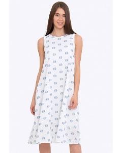 Длинное летнее платье А-силуэта Emka PL-632/paulina