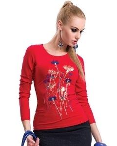 Красная блузка Zaps Jenifer