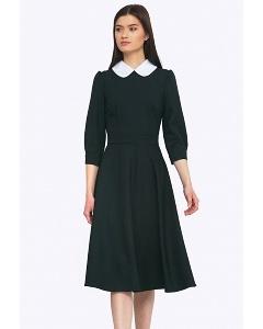 Платье с белым воротником Emka PL694/lorita