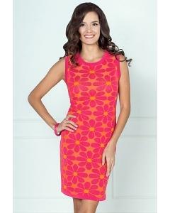 Розово-оранжевое платье Andovers 406634