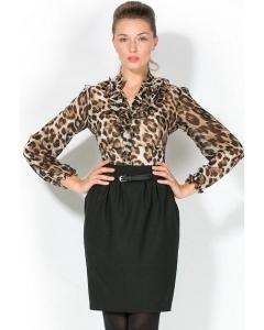 Леопардовая блузка Remix