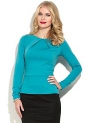 Блузка с отрезной талией Donna Saggia DSB-25-13t