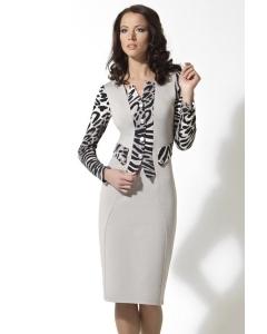 Платье из плотного трикотажа TopDesign   B2 083