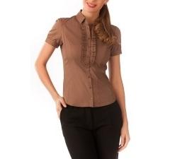Блузка цвета какао | Б792-1333