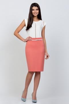 Розовая юбка Emka Fashion 202-60/pamela