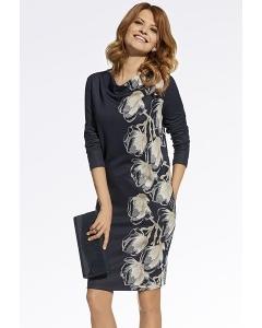 Красивое платье из мягкого трикотажа Enny 220047
