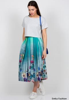 Летняя юбка Emka Fashion 532-elina