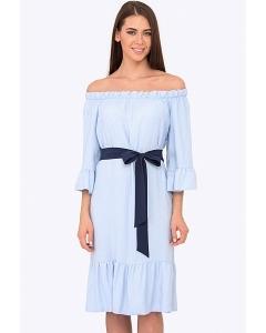 Летнее романтическое платье Emka PL-627/dolores