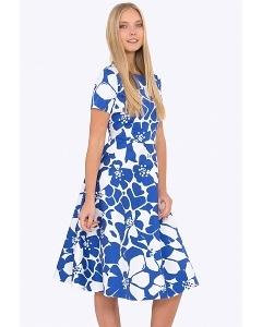 Платье из хлопка Emka PL-683/domenika