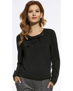 Чёрная блузка Enny 220002