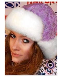 Модная женская шапка Snow Storm