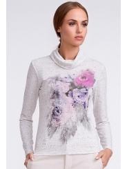 Блузка с цветочным принтом Sunwear U26