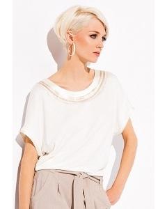 Белая блузка Zaps Dakota