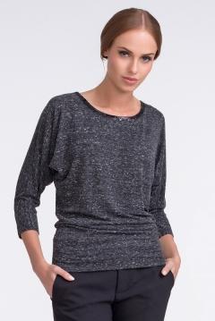 Блузка цвета тёмно-серый меланж Sunwear U33