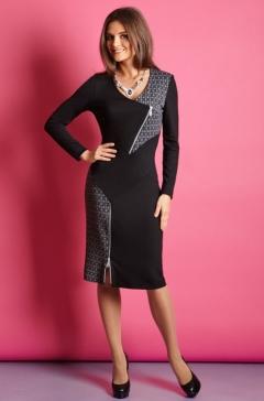 Изящное платье TopDesign B5 091