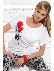 Белая блузка Zaps Rozalia