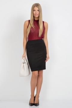 Черная юбка-карандаш 405-rumina