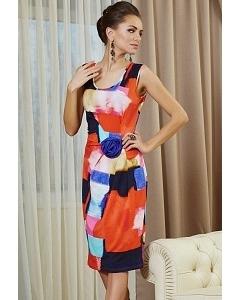 Летнее платье TopDesign Premium PA4 28